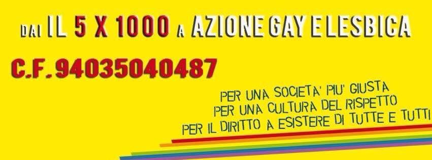 5x1000 azione gay e lesbica