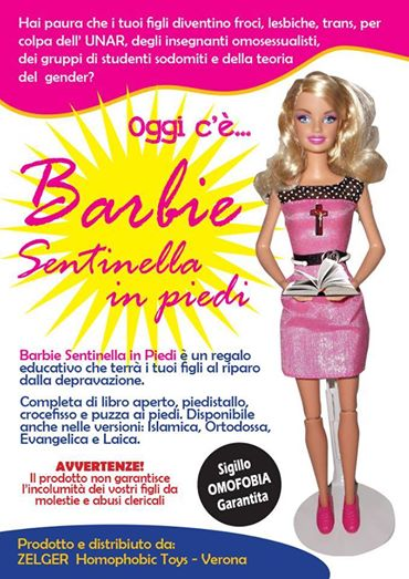 barbie sentinella