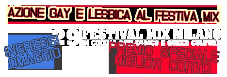 festival mix azione gay e lesbica