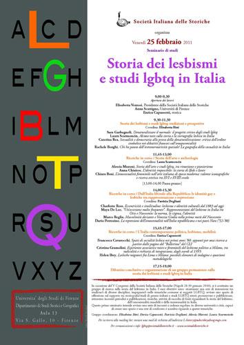 storia dei lesbismi 2011