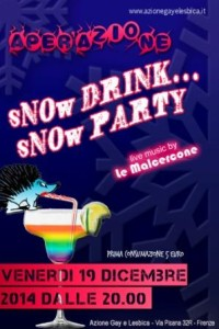 aperazione sNOw DRINK sNOw PARTY