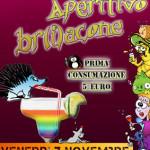 VENERDÌ 7 NOVEMBRE 2014 – APERITIVO BR(I)ACONE