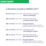 Iniziative Marzo 2017