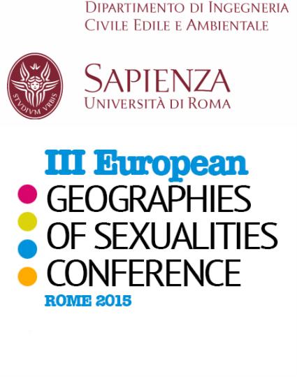 III Conferenza Europea di Geografie delle Sessualità